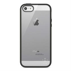 Belkin Candy View Case for Apple iPhone 5 in Black/ Clear