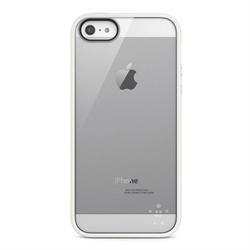 Belkin Candy View Case for Apple iPhone 5 in White/Clear