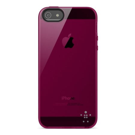 Belkin Translucent Ultra Thin iPhone 5 Case in Purple