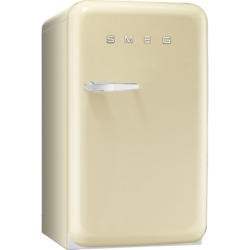Smeg FAB10RP Cream 50's Style Right Hand Hinge Fridge With Ice Box