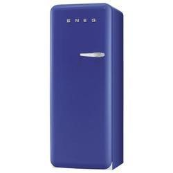 Smeg FAB28YBL1 50s Style Blue Left Hand Hinge Freestanding Fridge with Ice Box
