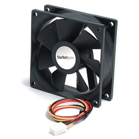 StarTech.com 92x25mm Ball Bearing Quiet Computer Case Fan w/ TX3 Connector