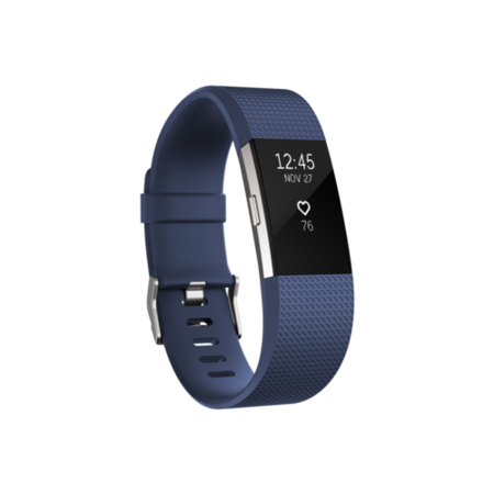 FB407SBUL-EU FitBit Charge 2 Activity Tracker Blue - Large