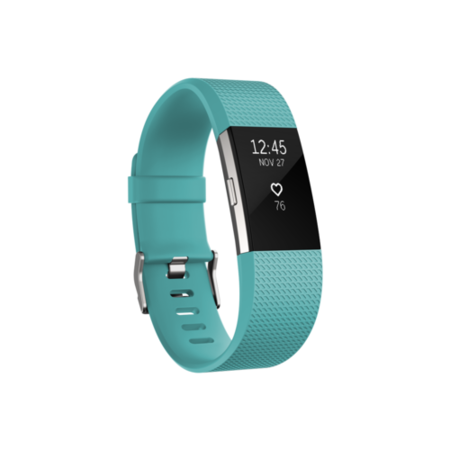 FB407STES-EU FitBit Charge 2 Activity Tracker Teal - Small