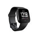 FB505GMBK-EU FitBit Versa Smart Watch with Heart Rate Monitor - Black