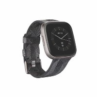 FitBit Versa 2 Special Edition Smoke Woven/Mist Grey Aluminium