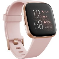FitBit Versa 2 with Amazon Alexa - Petal/Copper Rose