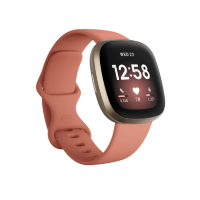 FitBit Versa 3 Smart Watch with GPS - Pink Clay