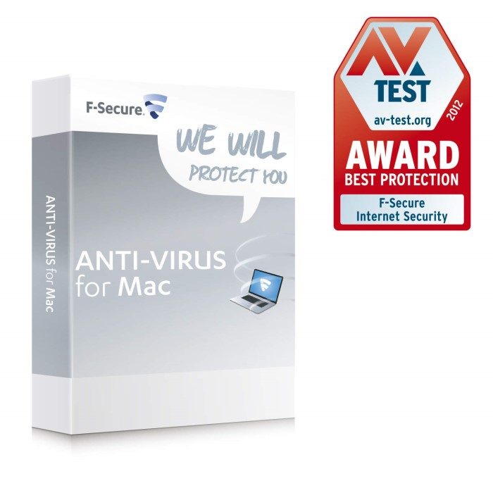 Keycard - F-Secure Anti-Virus 2014 for Macs 3 Users/1 Year Licence