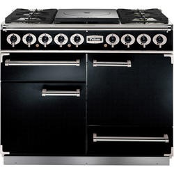 Falcon 81040 - 1092 - 110cm Dual Fuel Range Cooker - Black And Chrome
