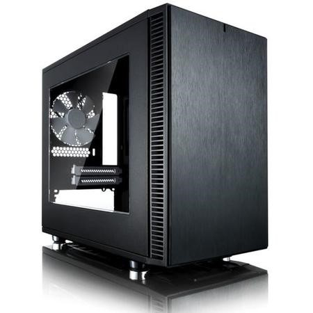 Fractal Design Define Nano S Black ITX Tower Case with Window