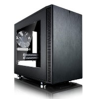 Box Open Fractal Design Define Nano S Window 'Silent' Mini ITX Case
