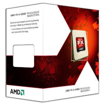 AMD FX 4300 Black Edition Quad-Core 3.8GHz AM3+ Desktop Processor