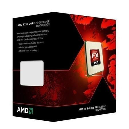AMD Piledriver FX-8 Eight Core 8320 Black Edition 3.50GHz (Socket AM3+) Processor - Retail