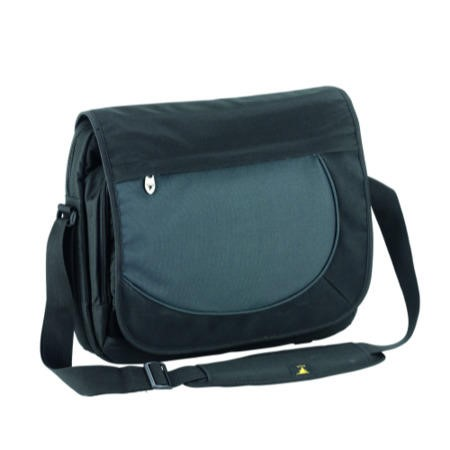 "Falcon 15.6"" Laptop Bag - Black and Grey"