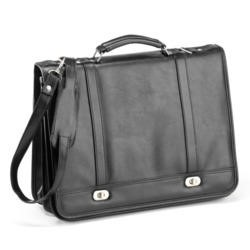 Falcon PVC Briefcase - Black