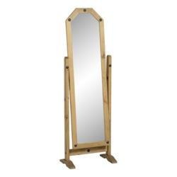 Seconique Original Corona Pine Cheval Mirror