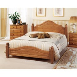 Airsprung Carolina Bed with Low Foot End - single