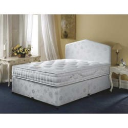 Airsprung Symphony Pocket 1000 Divan and Mattress - 2 continental drawer platform top single