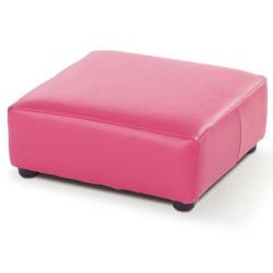 Just4Kidz Childrens Milan Footstool in Raspberry