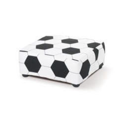 Just4Kidz Childrens Footstool - Football Print
