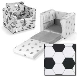 Just4Kidz Chair Bed in Football