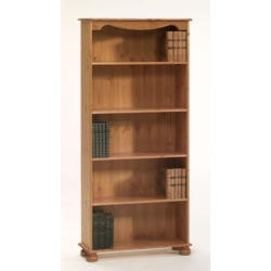 Steens Richmond Pine 4 Shelf Bookcase