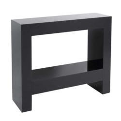 Morris Mirrors Dita High Gloss Console Table in Black
