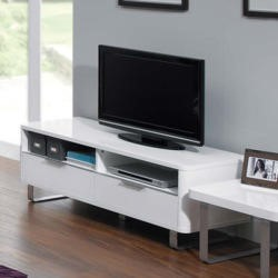 LPD Accent White High Gloss TV Cabinet