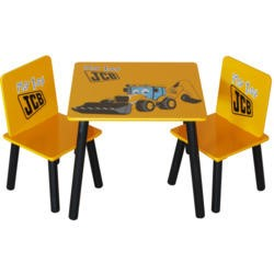 Kidsaw JCB Digger Table and 2 Chair Set