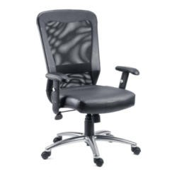 Teknik Office Blake Mesh and Leather Executive Chair