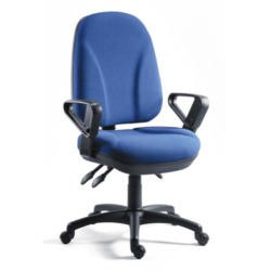 Teknik Office Conor Extra Large Operators Chair - blue