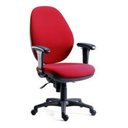 Teknik Office Sydney 24 Hour Extra Large Operators Chair - blue