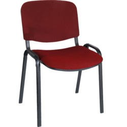 Teknik Office Hayley Stacking Conference Chair - red