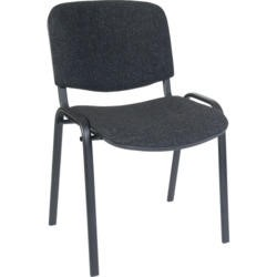Teknik Office Hayley Stacking Conference Chair - charcoal