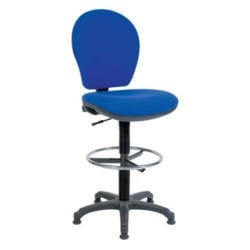 Teknik Office Frances Office Draughting Chair - charcoal