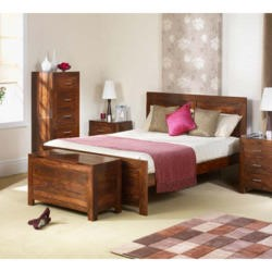Heritage Furniture UK Laguna Sheesham Bedframe - superking