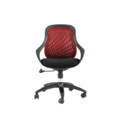 Alphason Designs Croft Mesh Back Executive Chair in Red