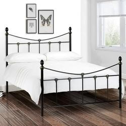 Julian Bowen Rebecca Black Metal Double Bed Frame