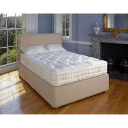 Relyon Marlborough Pocket 2000 Divan and Mattress - kingsize divan and mattress
