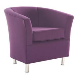 Icon Designs St Ives Tub Chair in Purple