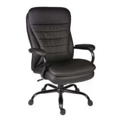 Teknik Office Hercules Heavy Duty Leather Faced Executive Chair