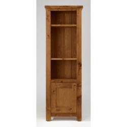 Willis Gambier Originals Bretagne Solid Oak Narrow Display Cabinet