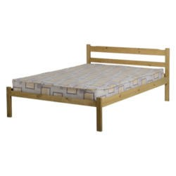 Seconique Panama Solid Pine Double Bed