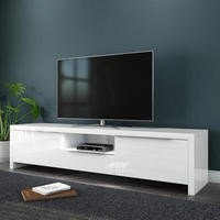 Evoque High Gloss White LED TV Unit