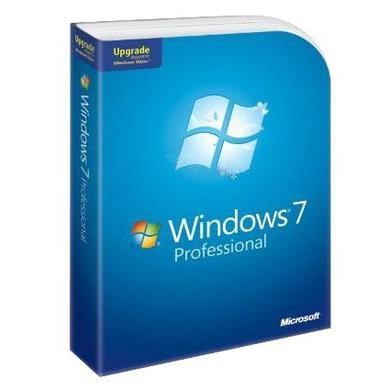 Microsoft Windows Professional  7 Upgrade 1 PC