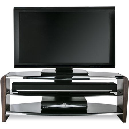 Alphason FRN1100/3-W Francium 1100 Walnut TV Stand