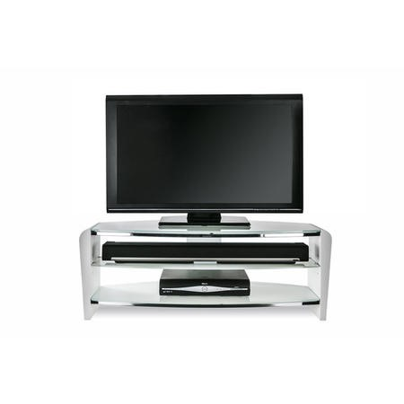 77506072/1/FRN1400/ARCTIC GRADE A2 - Alphason FRN1400/ARCTIC Francium 1400 Arctic White TV Stand