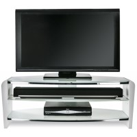 "Alphason FRN1100/ARCTIC Francium 1100 TV Stand for up to 50"" TVs - Arctic White"