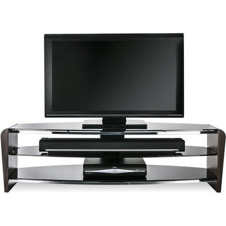 "Alphason Francium TV Stand for up to 60"" TVs - Walnut"